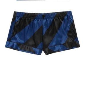 Victoria's Secret Striped Satin Shorts